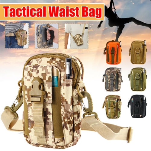 Tactical Pouch Hunting Bags Belt Waist Bag Military Fanny Pack Mini Bags Outdoor