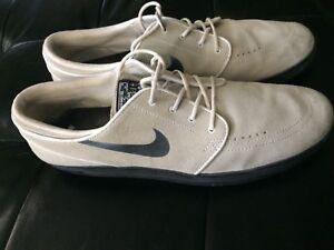 baf42231c557 Nike SB Lunar Stefan Janoski Skate Shoes Mens 14 Summit Ivory Black ...