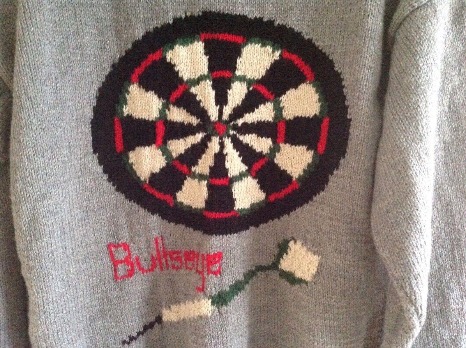 Mano Nuovo di zecca, lavorato a maglia, maglia, maglia, Freccette, Design, Maglione, Uomo, Grande 94bf52