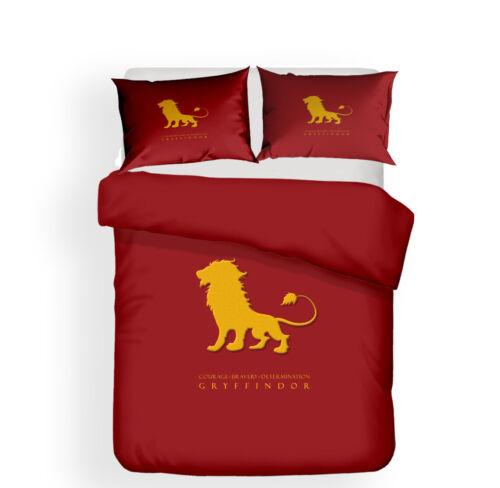 3D Harry Potter Bedding Set Duvet Cover Pillowcase Quilt Cover Comforter Cover