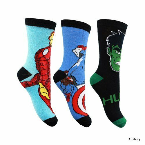 Brand New Licenced Charactor Childrens Socks Various colours/&Sizes.£1.99p 2 PACK