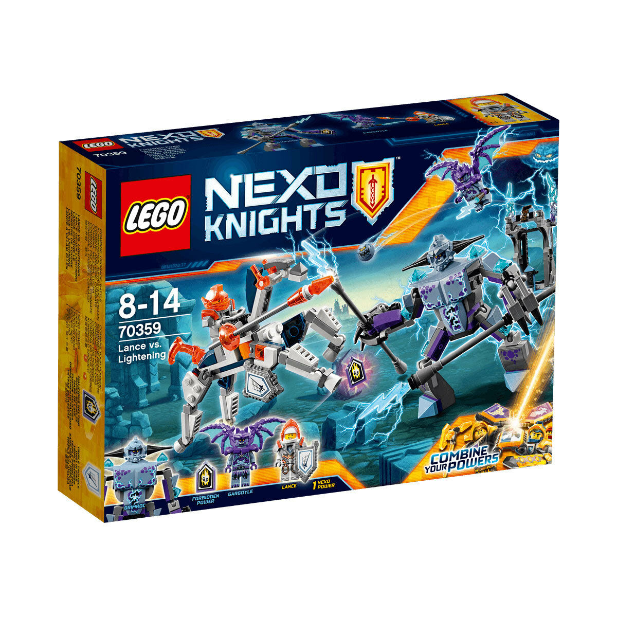 LEGO 70359 Nexo Knights Lance vs. Lightening