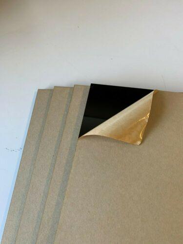 "12/"" x 12/"" x 0.236/"" Size Cast Acrylic Sheet Pack of 4 Black"