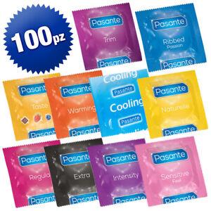 PASANTE-Kit-preservativi-misti-confezione-da-100-PEZZI