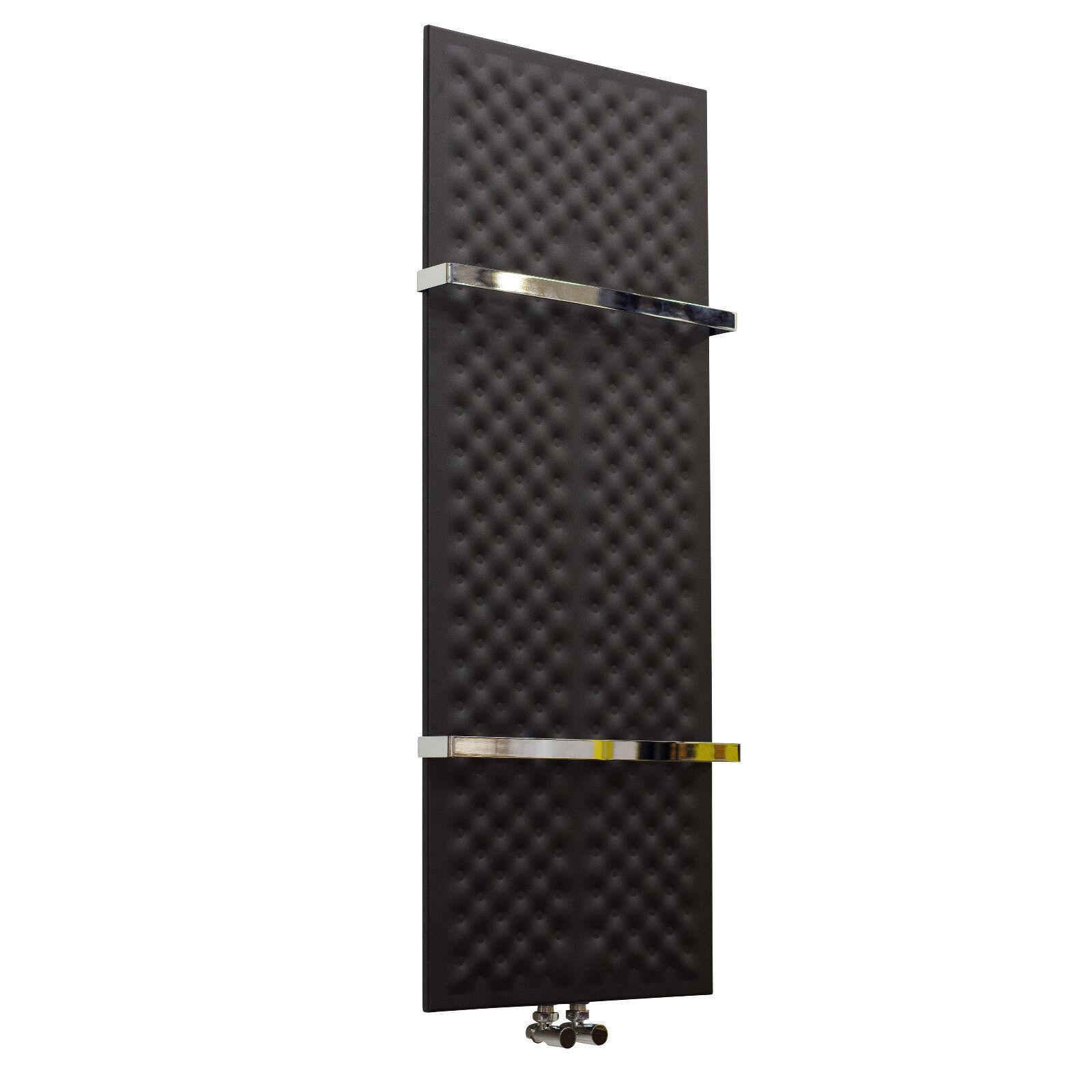 450mm wide Designer Heated Heated Heated Towel Rail Radiator 1200 1600mm high Luxury Bathroom 8bc3dd