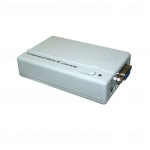 Details about CGA RGB and Component YCbCr to WXGA Upscaler (3 Year  Warranty) CM-397M
