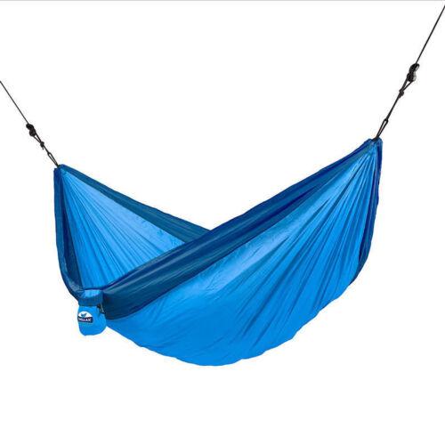 Double Size Hammock Blue Ideal Camping Garden etc