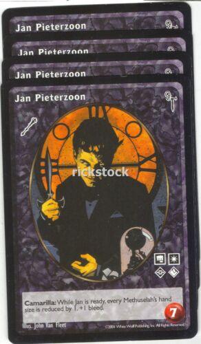 Jan Pieterzoon x4 Ventrue FN VTES Jyhad