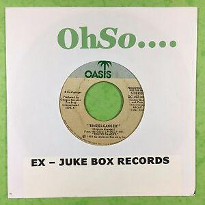 Giorgio-Moroder-Einzelganger-Oasis-OC-403-Selten-Promo-Jukebox-Bereit-VG