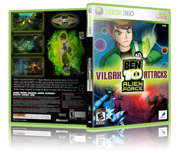 Ben 10 Alien Force Vilgax Attacks Xbox 360 For Sale Online Ebay