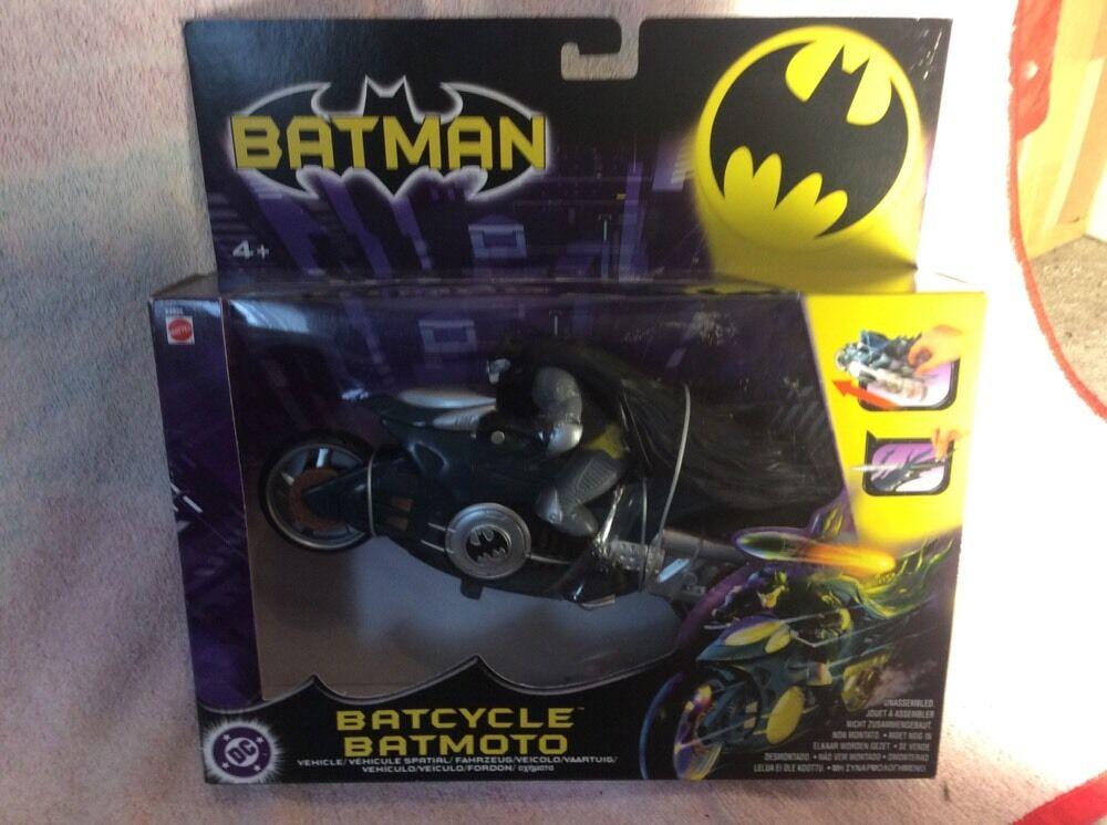 2005 Batman Tire hacia atrás atrás e ir baticiclo MIB  la calidad primero los consumidores primero