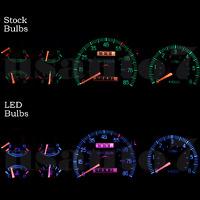 Dash Instrument Cluster Gauge Pink Leds Lights Kit Fits 87-91 Ford F150 F250