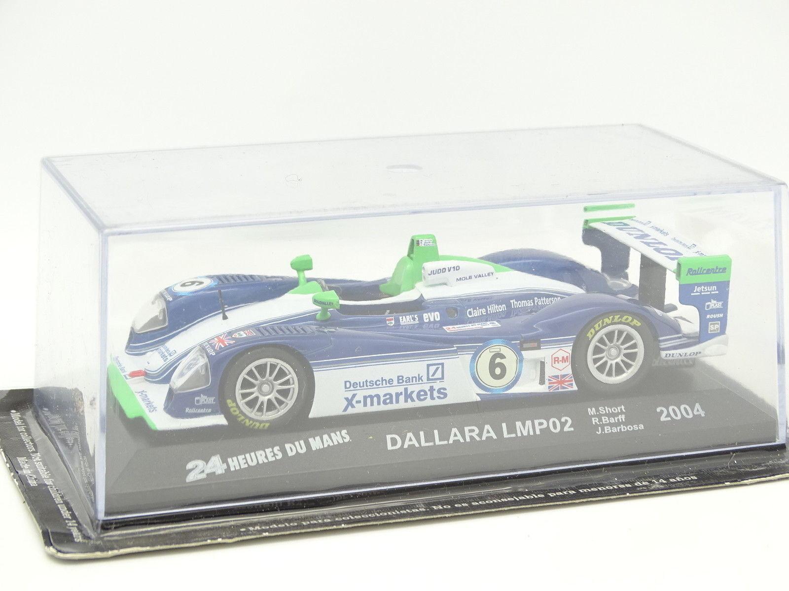 Ixo Presse Le Mans 1 43 - Dallara Dallara Dallara LMP02 2004 4f1df8