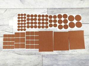 Furniture Pads Protect Hardwood Laminate Flooring Felt Desk Chair Table