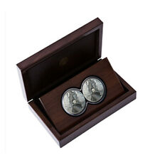 Silbermünze The Big 5 Nashorn 2020 2 Coin Set 2 x 1 oz in Polierte Platte