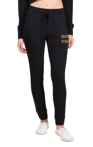 Black Brooklyn Cloth Women/'s Hacci Jogger Pants XS S M L Cali Bear Gray