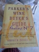 Parker's Wine Buyer's Guide No. 7 Brand W/dust Jacket Free Shipping In Usa