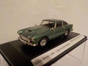 Aston-Martin-DB4-Green-Metallic-Diecast-Metal-Model-1-43-Scale