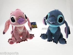 Peluche-Stitch-et-l-ange-Disney-Originaux-26-cm-Lilo-amp-STITCH-Plush-Peluches