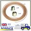 Copper-Brake-Pipe-3-16-034-X-25-FT-Roll-20-Metric-Unions-10-Male-10-Female thumbnail 1