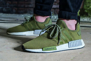 adidas green trainers nmd