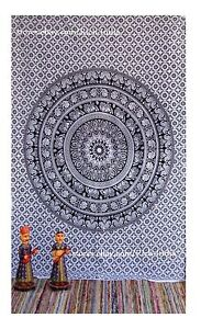 Twin-Hippie-Tapestry-Wall-Hanging-Indian-Mandala-Tapestries-Bedspread-Wall-Decor
