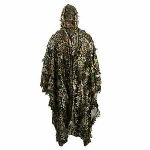 Ghillie-Suit-Outdoor-3D-Leaves-Camo-Military-CS-Woodland-Hunting-Ghillie
