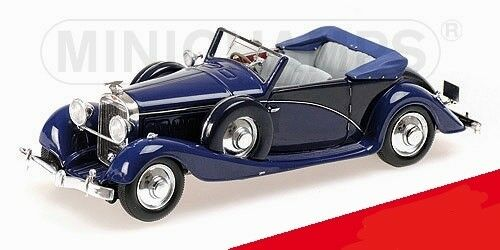 HISPANO SUIZA J12  1935 CABRIOLET  MULLIN COLLECTION      MINICHAMPS    1 43  magasin fashional à vendre