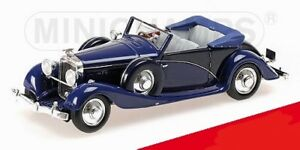 Hispano Suiza J12 1935 Collection Cabriolet Mullin Minichamps 1/43