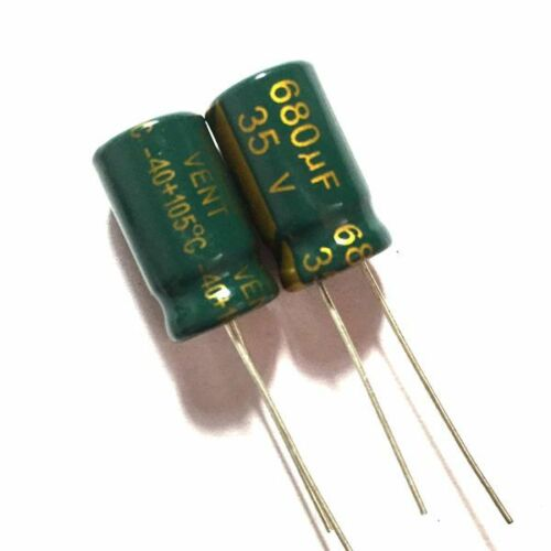 35V 680uF 35Volt 680MFD Electrolytic Capacitor 100uF~6800uF 12Values