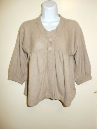 Beige Banana shmere Cardigan S pop Scoopneck Baby 100 Republic Sweater Dolman UHHgwqt1