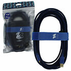 ZedLabz Ultra 5m Gold Plated Braided Charging Cable for Sony Ps4 - Refurb