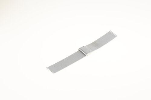 Bracciale maglia milano acciaio inox filo 0.50 mm Milanese strap stainless steel