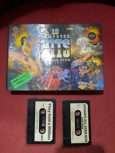 Jeux Amstrad 10 computer hits / 2 k7 supplémentaires