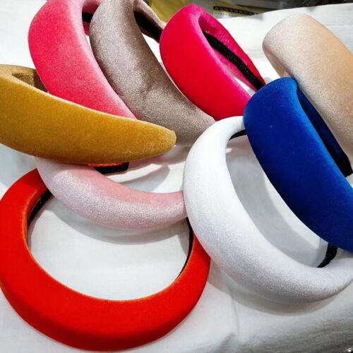 Simple Women/'s Headband Padded Wide Hairband Hair Hoops Girls Hair Accessories