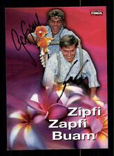 Zipfi Zapfi Buam Autogrammkarte Original Signiert ## BC 77458