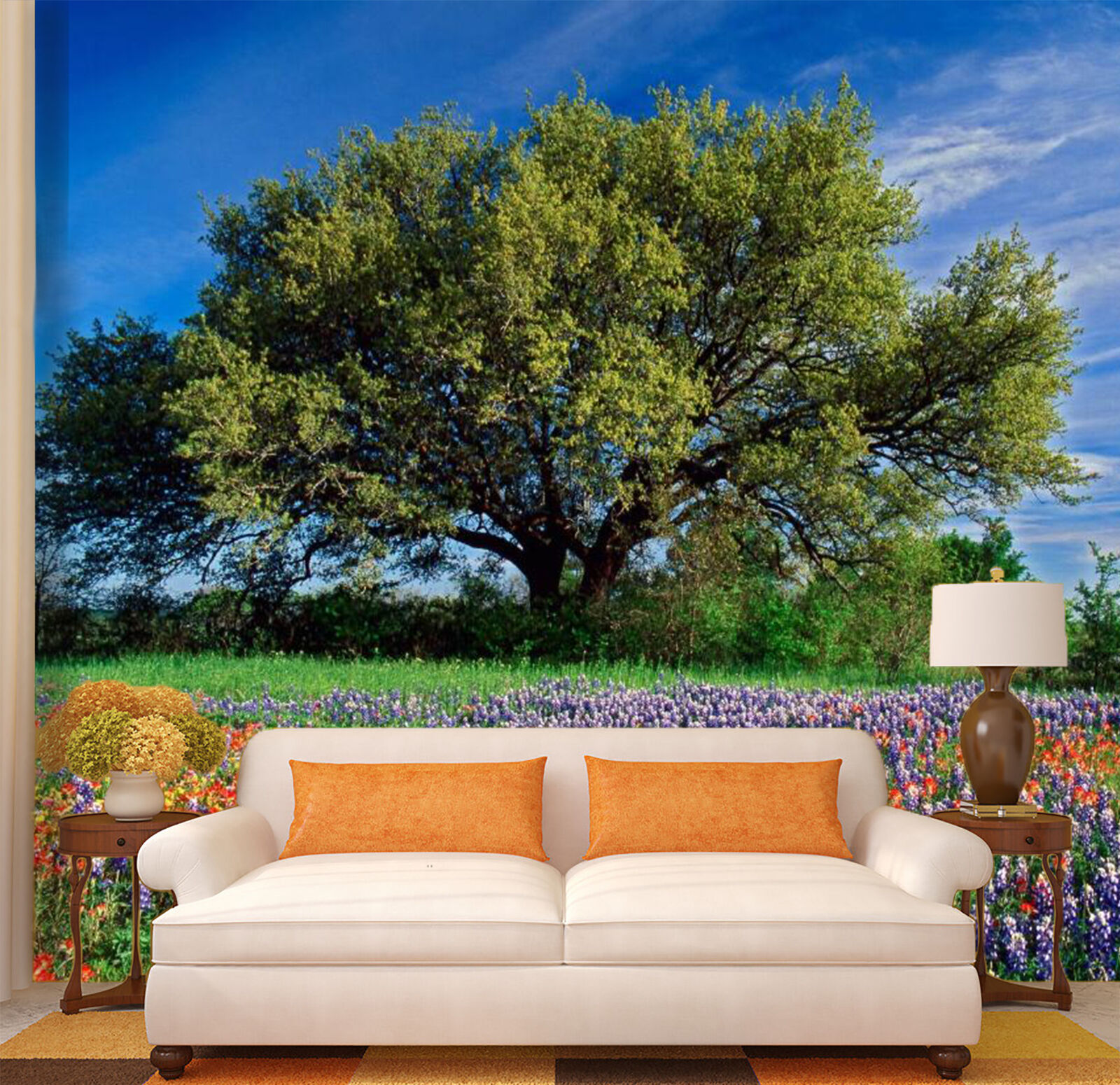 3D Vert Cèdre 871 Photo Papier Peint en Autocollant Murale Plafond Chambre Art