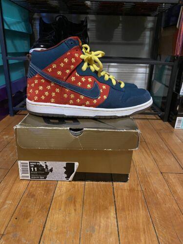 Nike Sb Dunk High Quagmire Sz 11