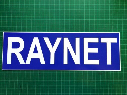 RAYNET Magnet Magnetic Radio Amateurs Emergency Network DOORS /& BONNET 460mm x3