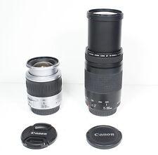 Canon EF 28-90mm & 75-300mm TWO lens SET for EOS T5i T6i 70D 7D 5D II III 6D etc