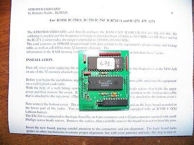 IK2RND ROM for 751(A), 745, 271, 471, R71A/E, 1271 Memory Unit