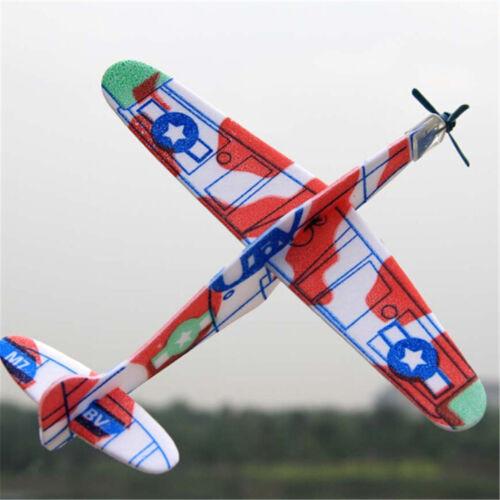 Tiro mano 19cm aviones de Espuma Avión Planeador Volador Bolsa Fiesta Niños Relleno toyhwc