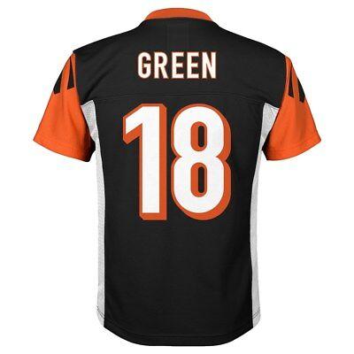 BNWT Cincinnati Bengals AJ A.J. Green Youth Football Jersey (L,XL) | eBay