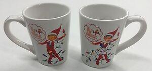 NEW Christmas Elf On The Shelf Hot Cocoa Coffee Cup Mug