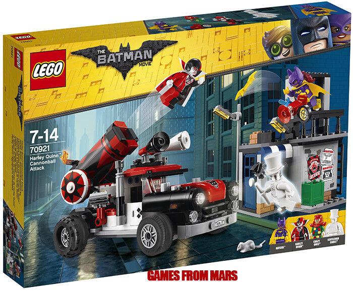 LEGO BATMAN MOVIE n. 70921 ATTACCO CON IL CANNONE DI HARLEY QUINN - Nuovo