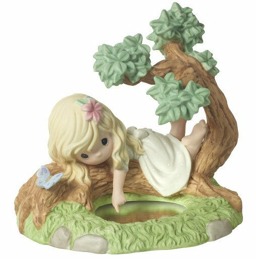 "Precious Moments Girl in a Tree /""You Are The Reflection of His Love/"" Figurine"