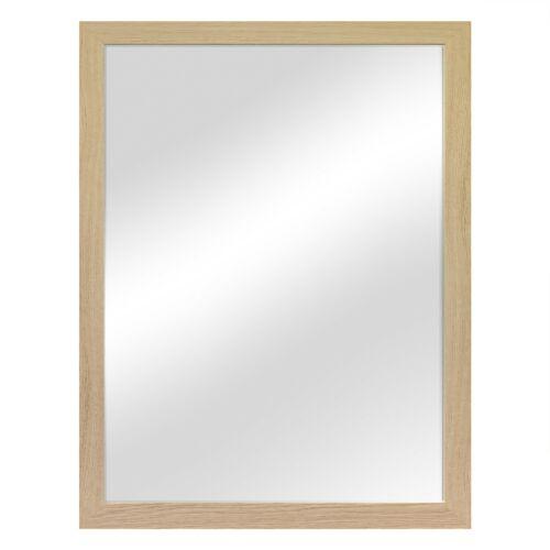 Miroir Mural Décoration flurspiegel vestiaires Miroir 56,5x76 5 cm-Nature