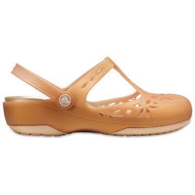 NEW Genuine Crocs Women Isabella Clog Dark Gold