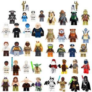 Lego-Star-Wars-150-Minifigures-Jedi-Sith-Vader-Yoda-Obi-Wan-Darth-Clone-Ren-Hot
