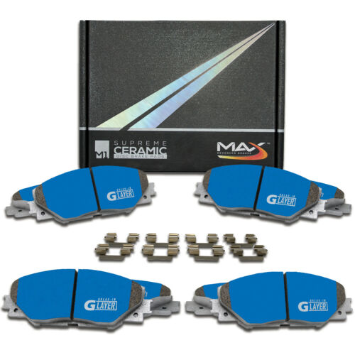 15-16 Ford Transit Connect Max M1 Ceramic Brake Pads F+R